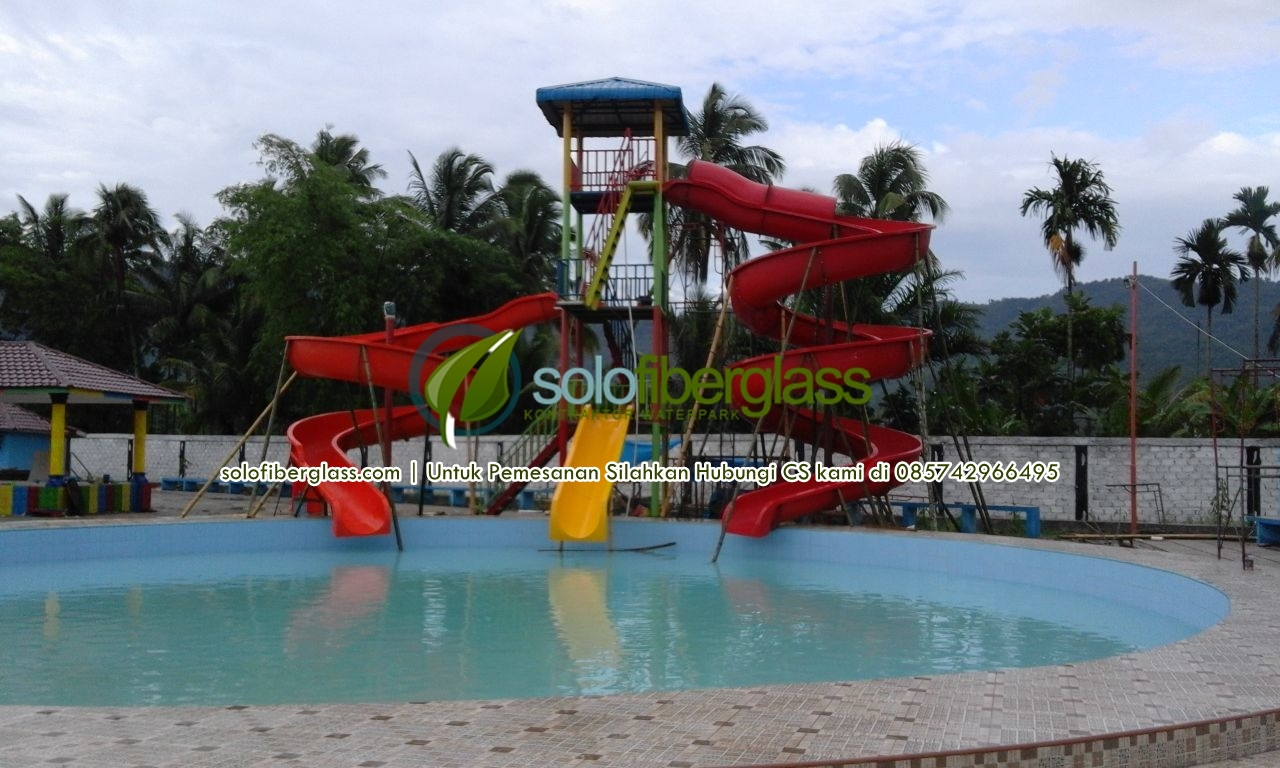 Pembuatan Waterboom - Waterboom Mini
