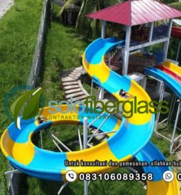 Spiral Body Slide Waterboom